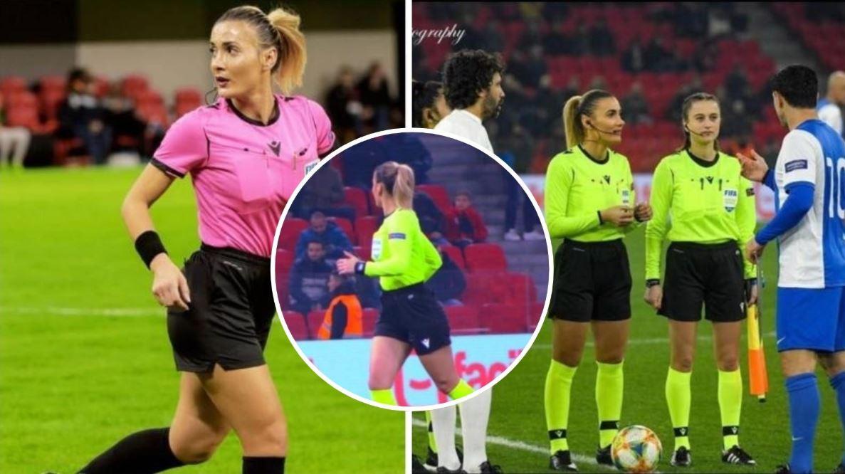 Pasioni për arbitrimin dhe ngacmimet nga futbollistët, rrëfehet Emanuela Rusta