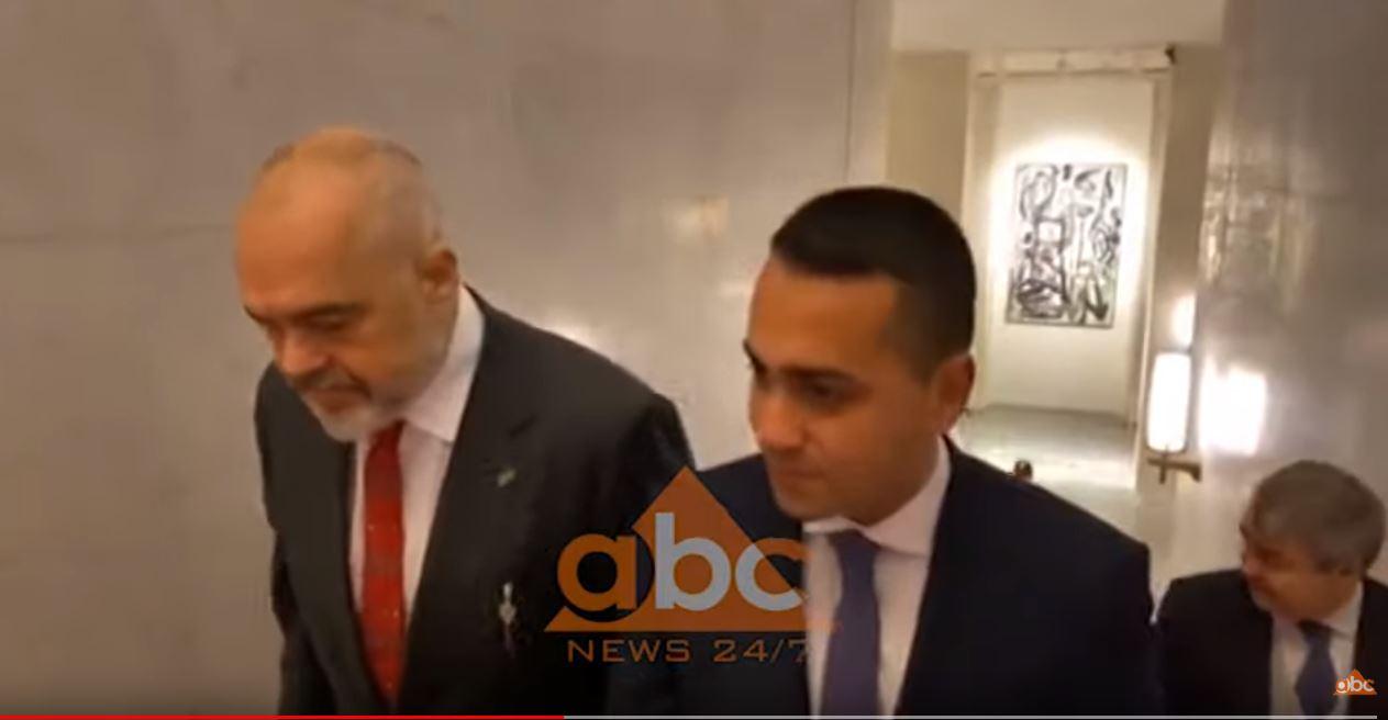 Rama zbulon faturën financiare të tërmetit gjatë takimit me Di Maion