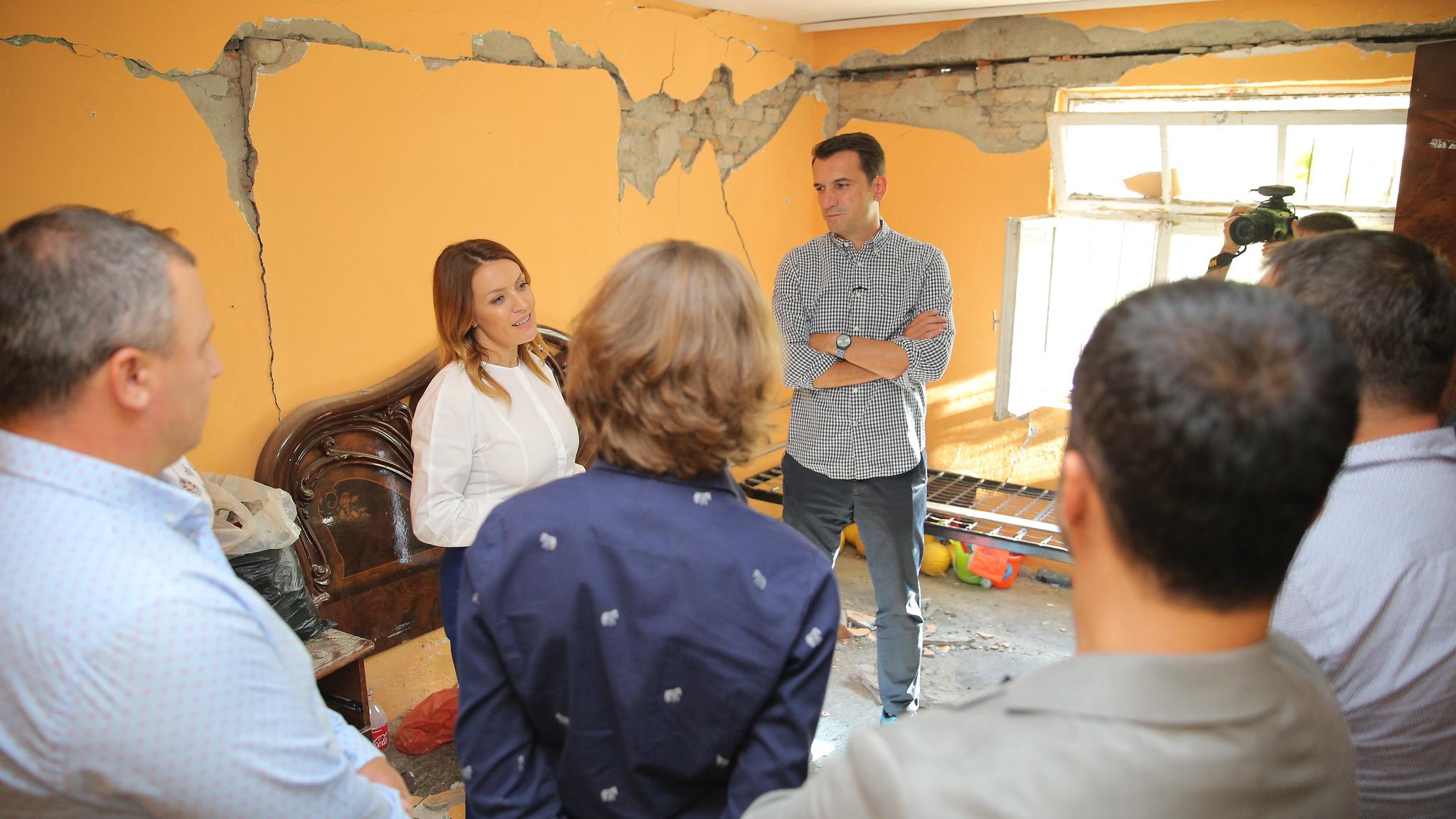 """""""Tërmeti"""", Tirana më shumë fonde se Durrësi: 200 milionë lekë për vlerësimin e banesave"""