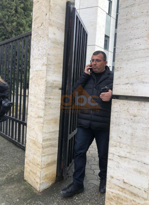 The video of cocaine, mayor Lefter Alla arrives at Tirana Prosecutor's Office