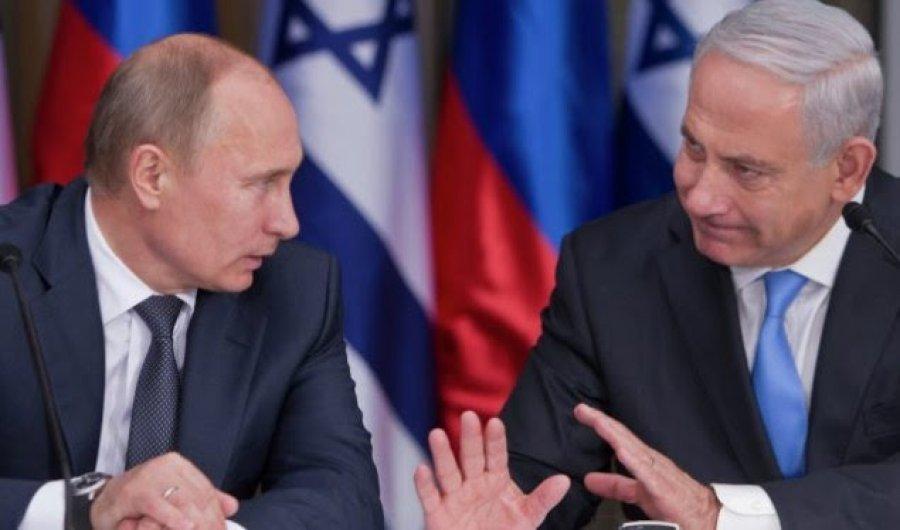 Netanyahu në Moskë,  takon Putinin për Planin e Paqes