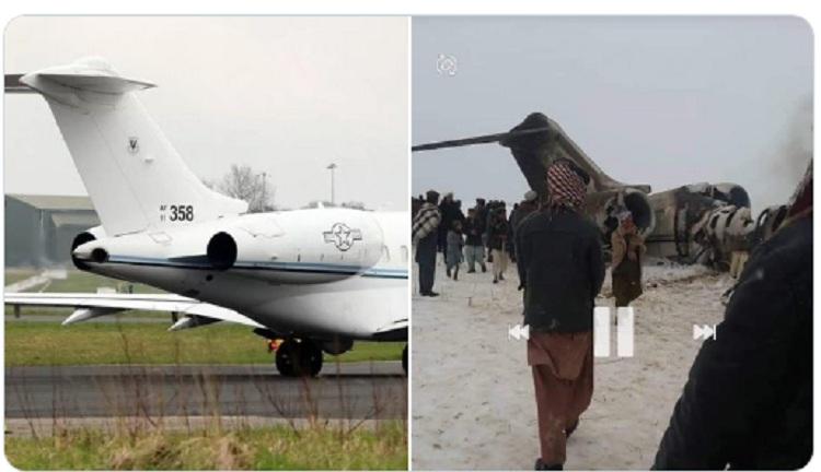 """VIDEO/ """"Ishte avion i CIA-s"""": Dalin pamjet, shtohet misteri për aksidentin ajror në Afganistan"""