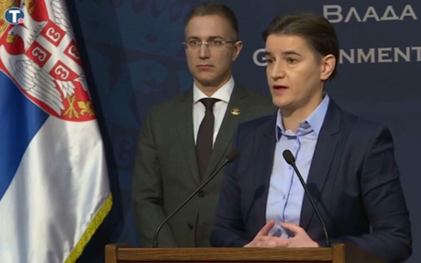 Shoqata e gazetarëve në Serbi kundër kryeministres Brnabic: Fushatë armiqësore ndaj mediave