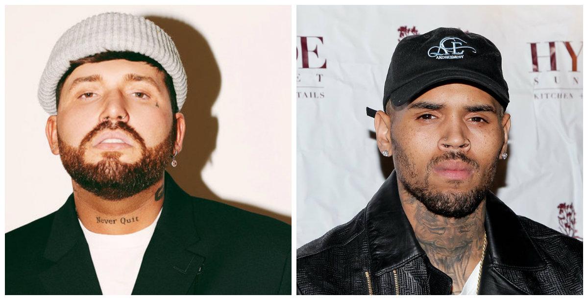 Gashi bashkëpunim me Chris Brown, zbulohet data e publikimit