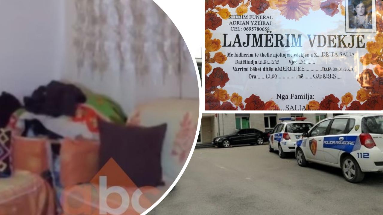 VIDEO/ Ceremonia mortore për Drita Saliajn, kunati vjen nga Greqia: Hajdutët më plaçkitën dhe mua