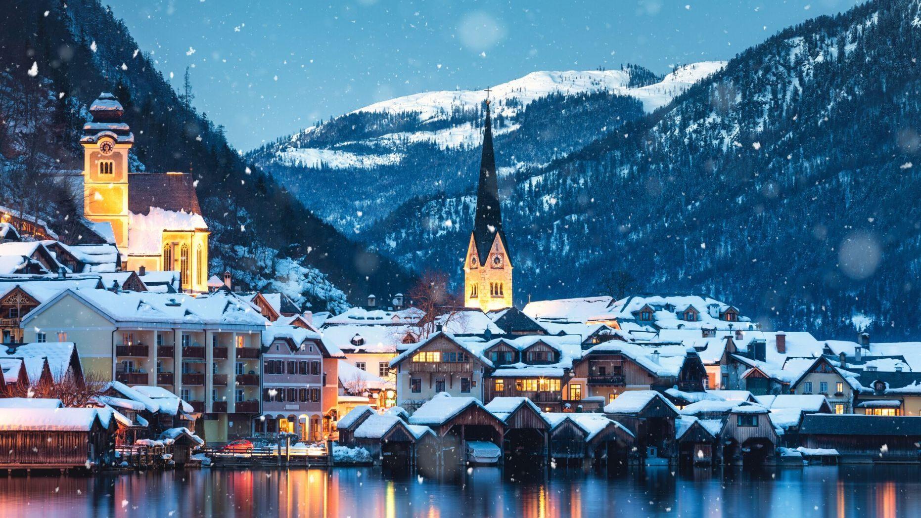 """Si po e shkatërron Instagrami fshatin austriak që frymëzoi """"Frozen"""""""