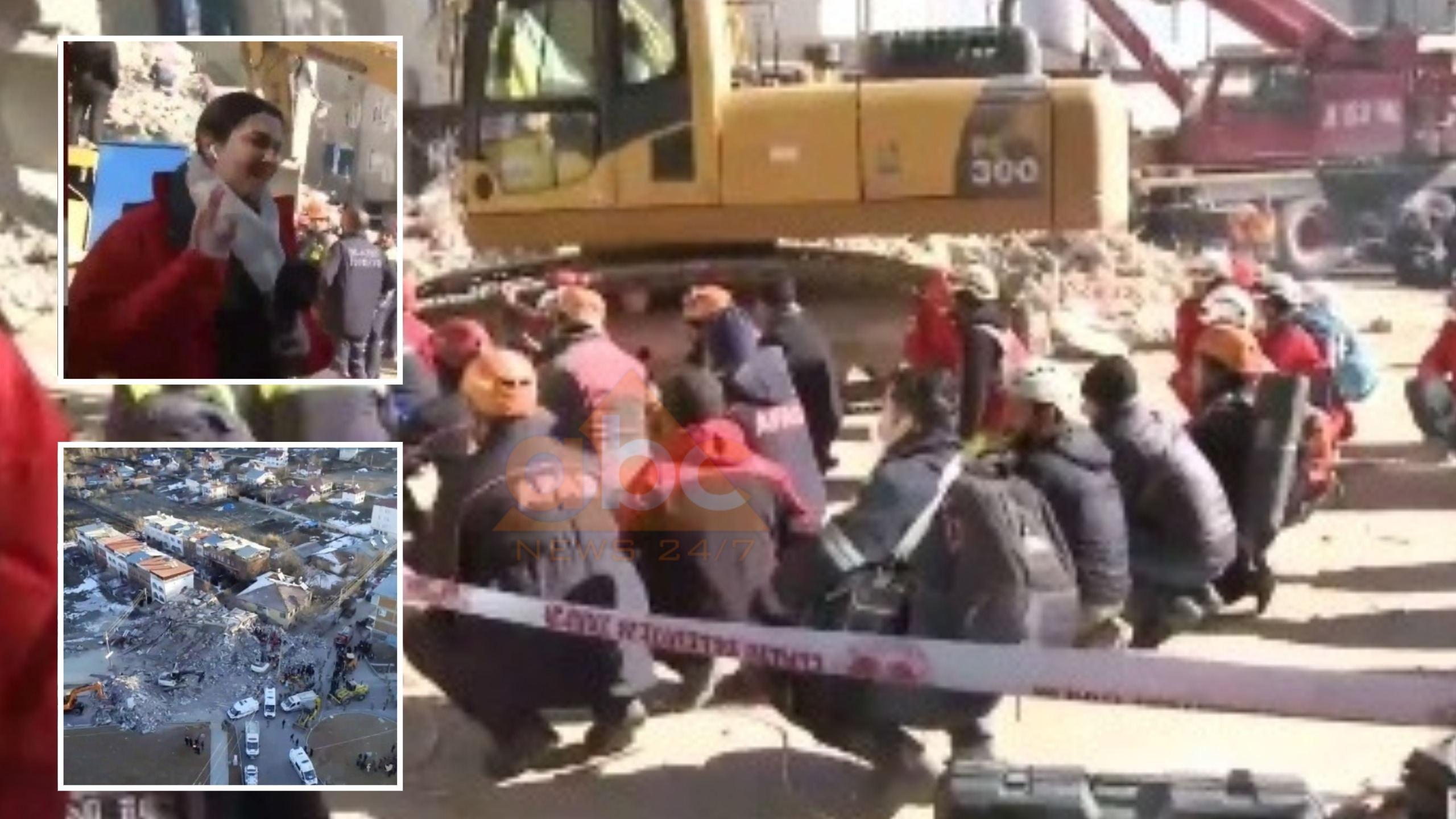VIDEO/ Të gjithë presin ulur, gazetarja qan gjatë raportimit: Pamje dramatike nga Turqia