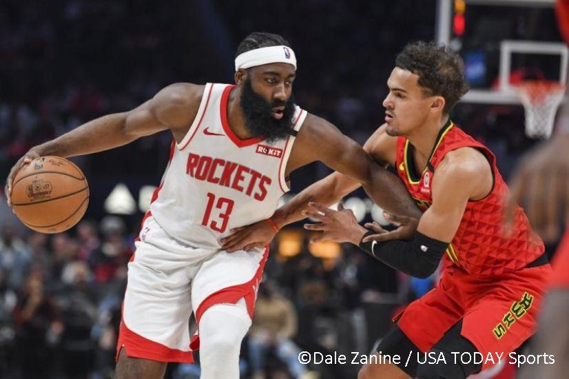 """Young-Harden, tani në historinë e NBA me këto """"triple double"""""""