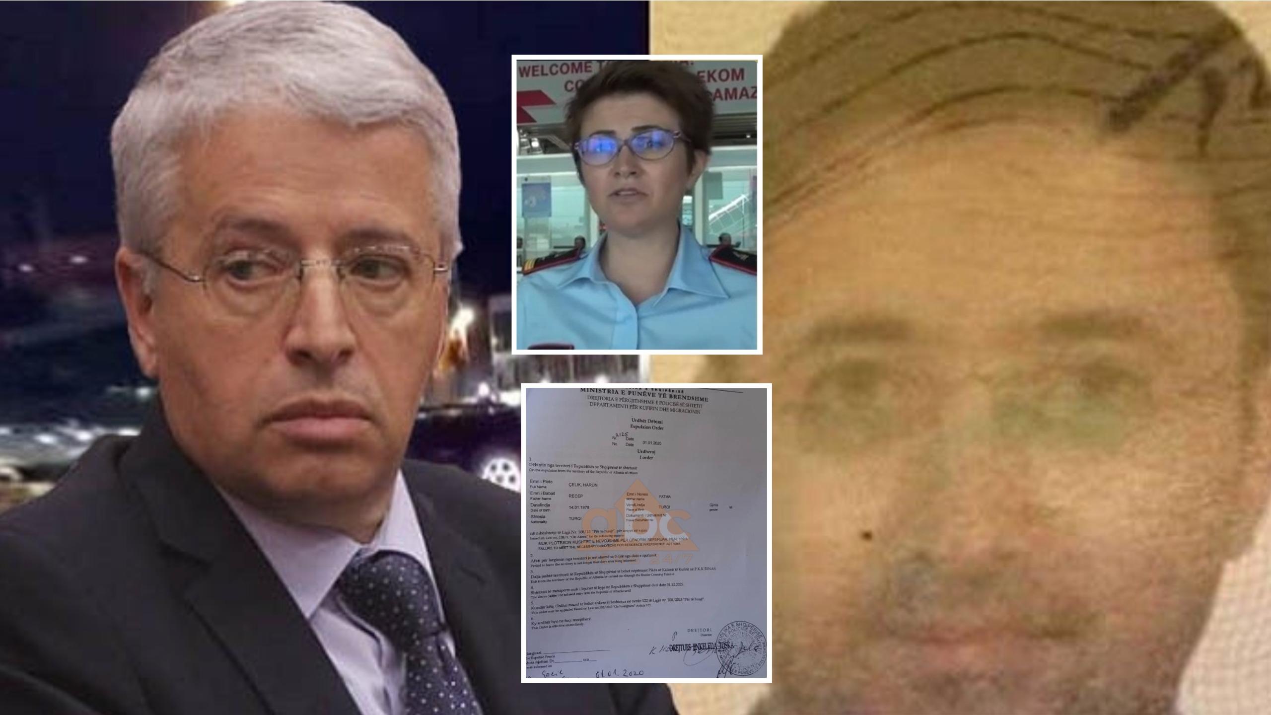 Plot me gafa dhe shkelje: Tre pikat e errëta të dokumentit për dëbimin e Harun Çelik