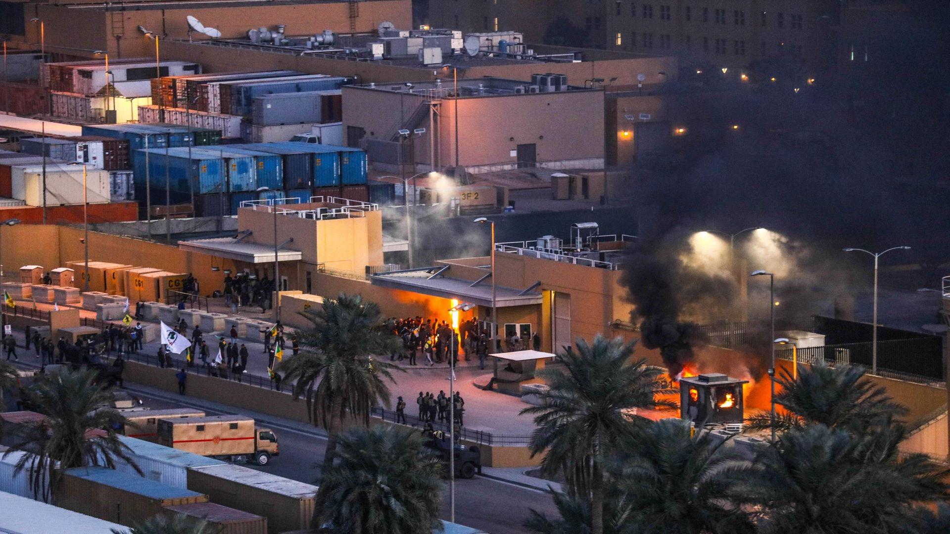 Sulm në bazën ajrore të Baladit në Irak, plagosen 4 persona