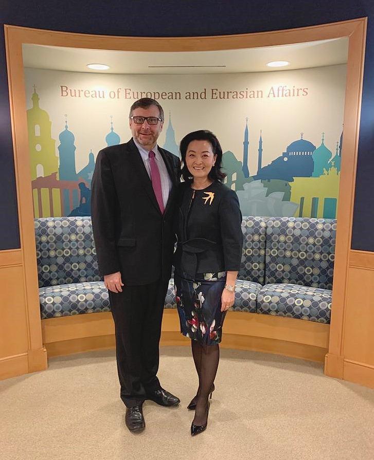 Palmer takim me Yuri Kim, Ambasada e SHBA: Marrëveshja për zgjedhoren lajm pozitiv