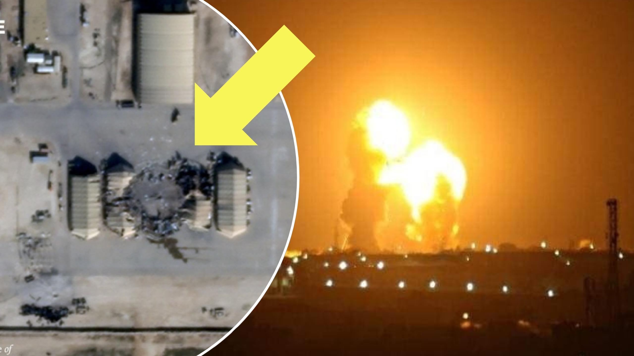 FOTO/ 15 raketa, dalin pamjet e dëmeve nga sulmi iranian mbi bazën amerikane