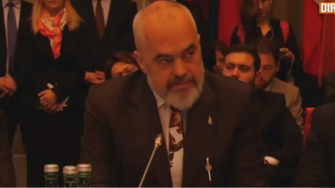 """""""Një vend i vogël, djallëzor"""", Rama komenton deklaratën kërcënuese të Iranit"""