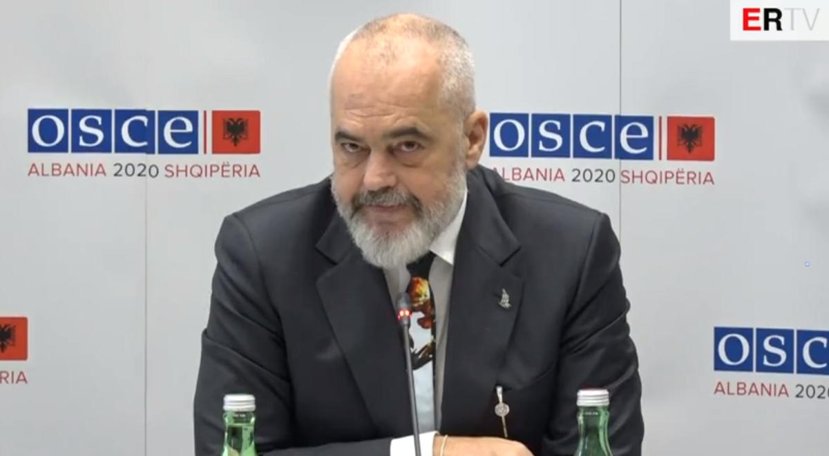 """""""Risku nga muxhahedinët"""", Rama: Çdo sulm ndaj vendit tonë, është sulm mbi NATO-n"""