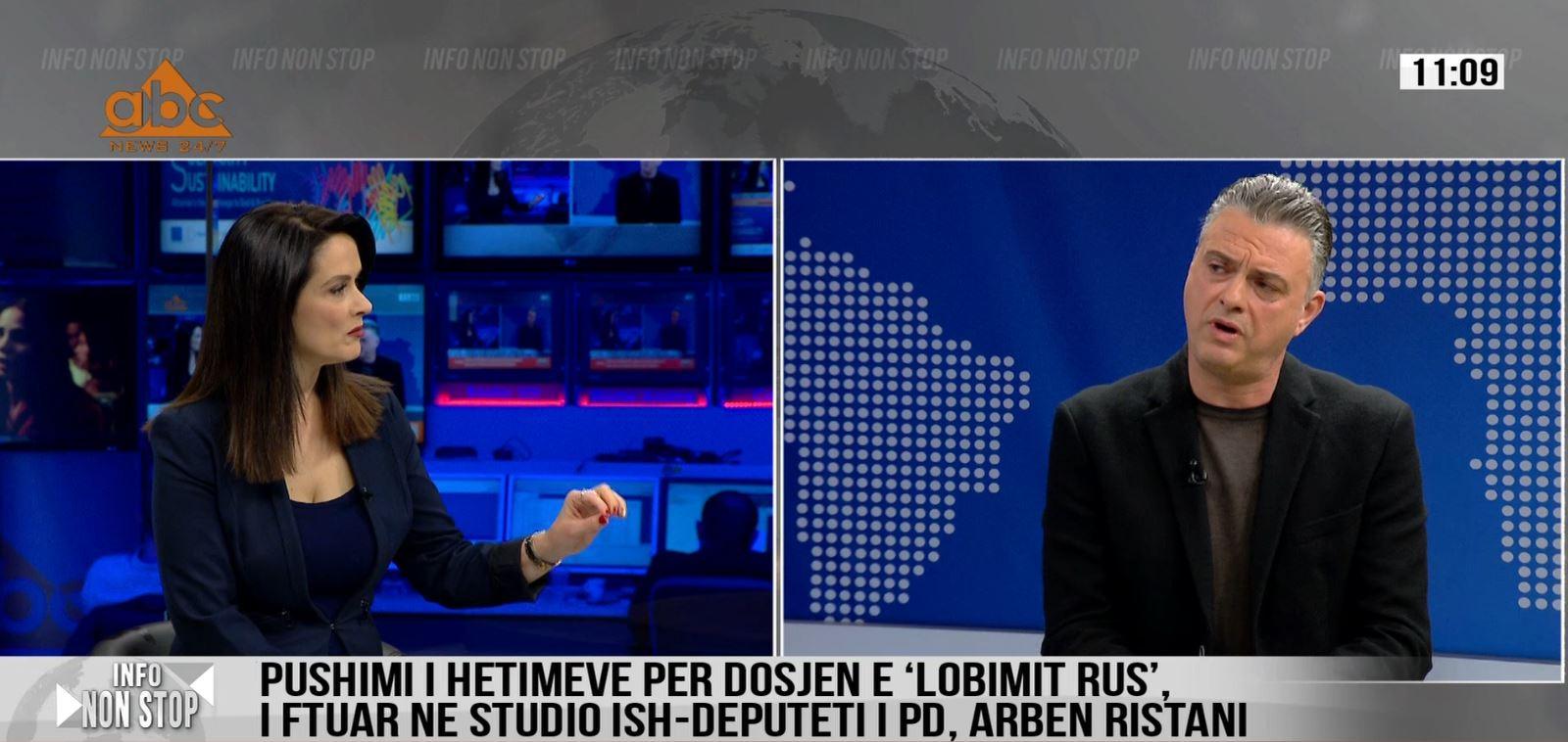 """Arben Ristani tregon çfarë e bëri gjykatën të pushojë çështjen e """"lobimit rus"""""""