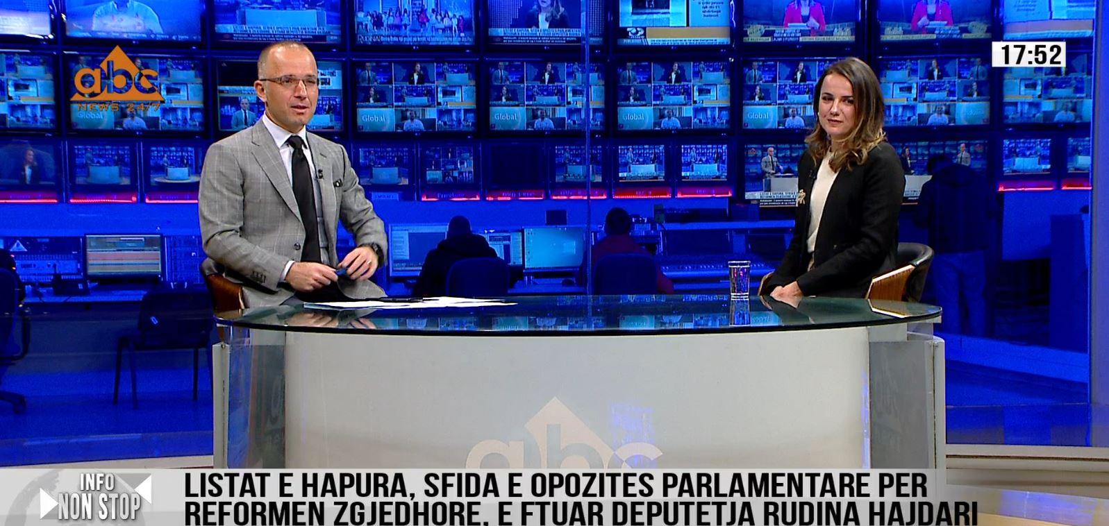 Rudina Hajdari pranon se ndryshimi i sistemit zgjedhor, do të favorizonte vazhdimin e karrierës së saj politike