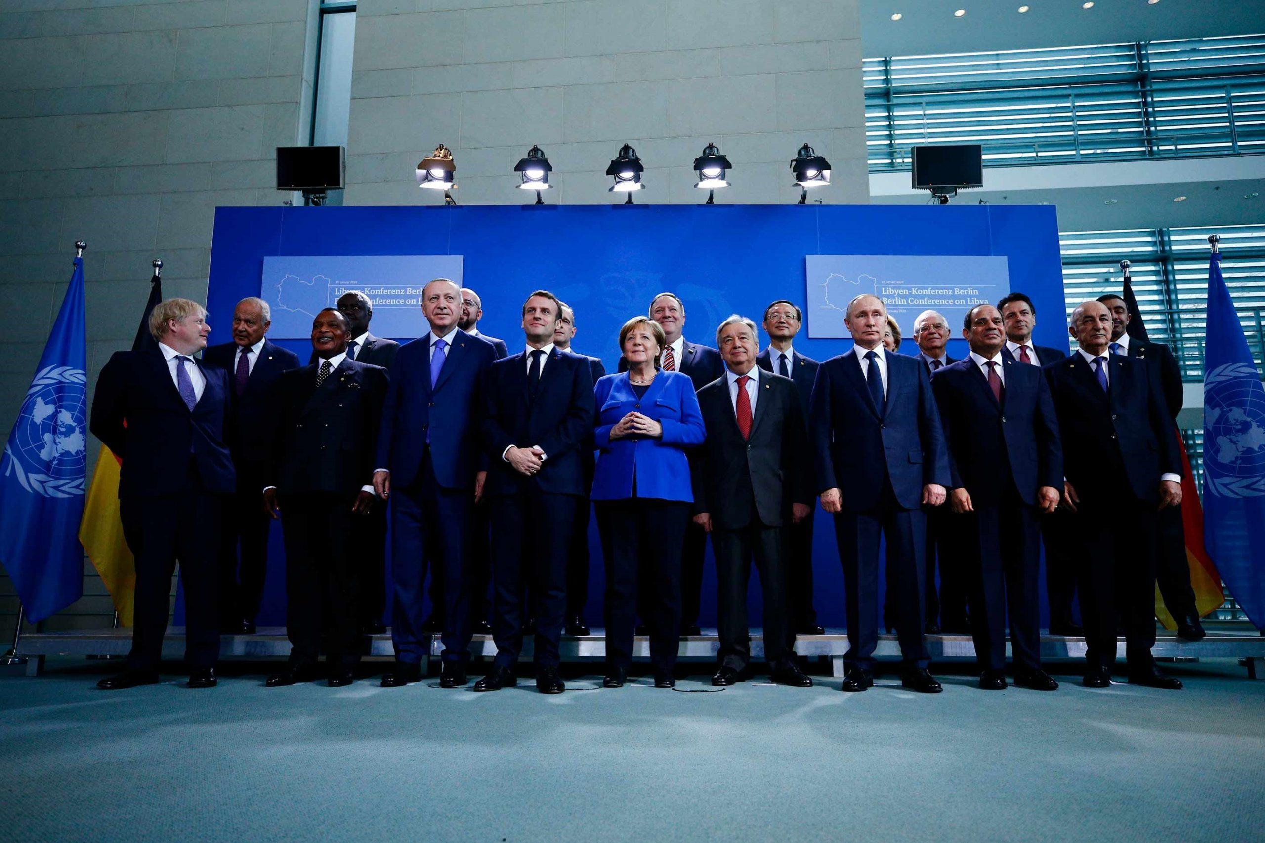 Samit në Berlin mbi krizën në Libi, konferenca synon ndaljen e luftimeve
