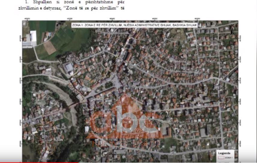 Dalin hartat, ku do të rindërtohet lagjet e reja të termetit