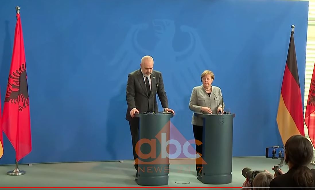 Takimi Rama-Merkel, kancelarja: Tërmeti goditje e rëndë, mbështetje për hapjen e negociatave
