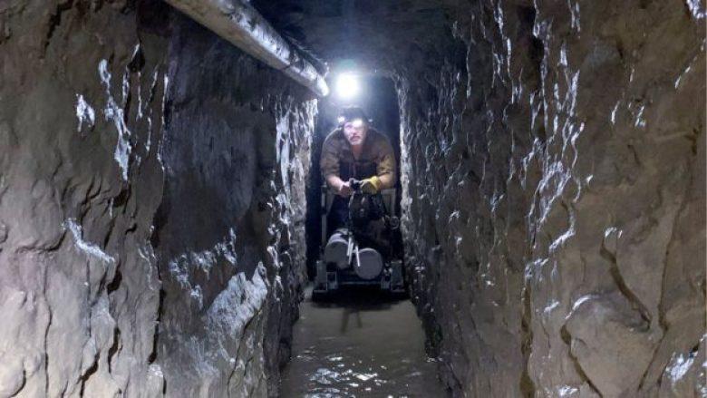 Me ashensor, sistem ventilimi dhe dranazhimi: Zbulohet tuneli më i gjatë i i drogës mes SHBA dhe Meksikës