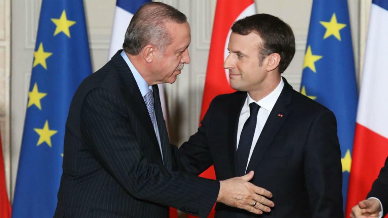 Macron kritikon Erdogan: Nuk e mbajti fjalën për konfliktin në Libi