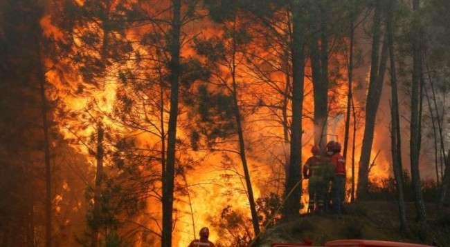 Zjarr i përmasave të mëdha në vargmalet e Moravës
