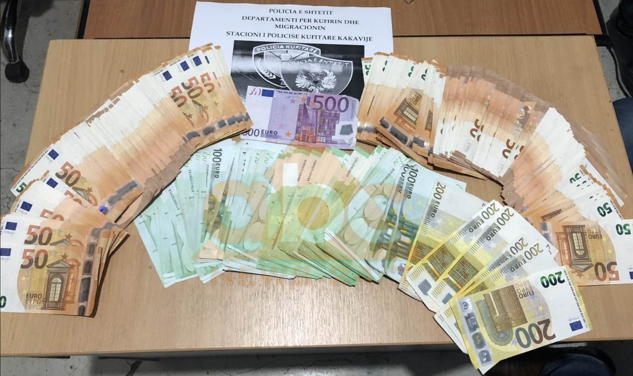 Me një çantë me euro drejt Greqisë, beratasi nuk ia del dot