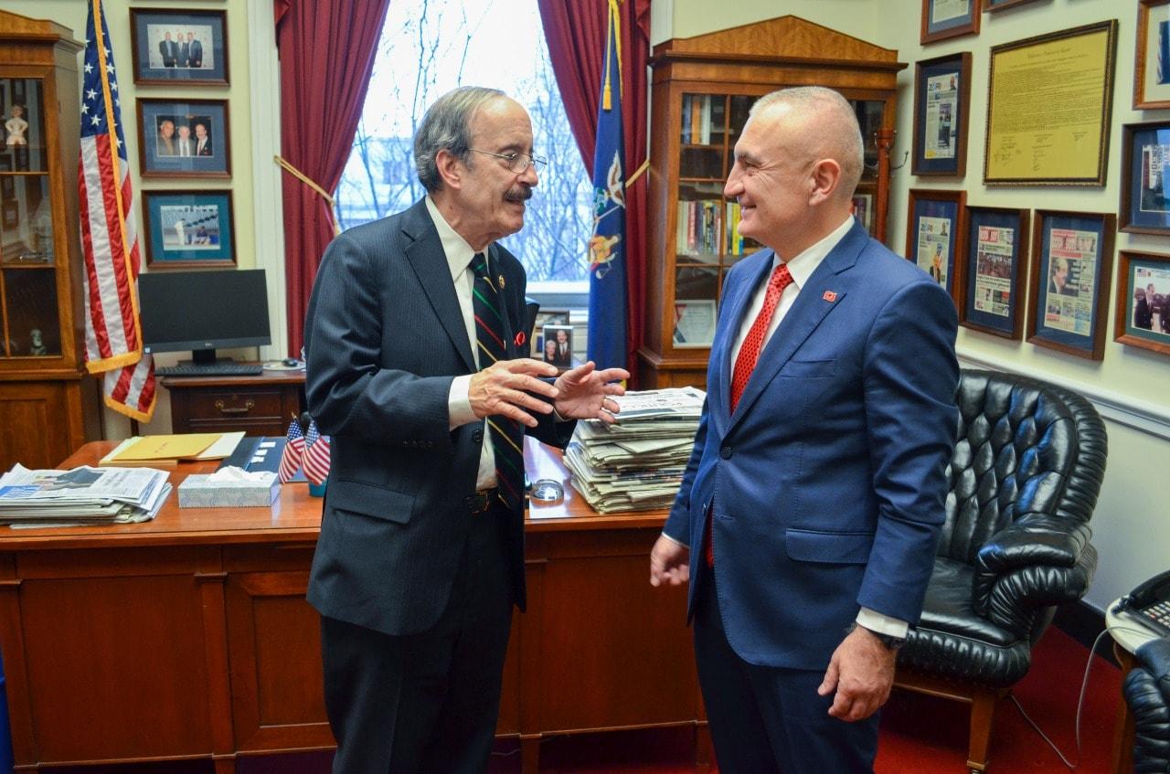Meta takon kongresmenin Engel: Konsolidim i arritjeve në Ballkan për paqe