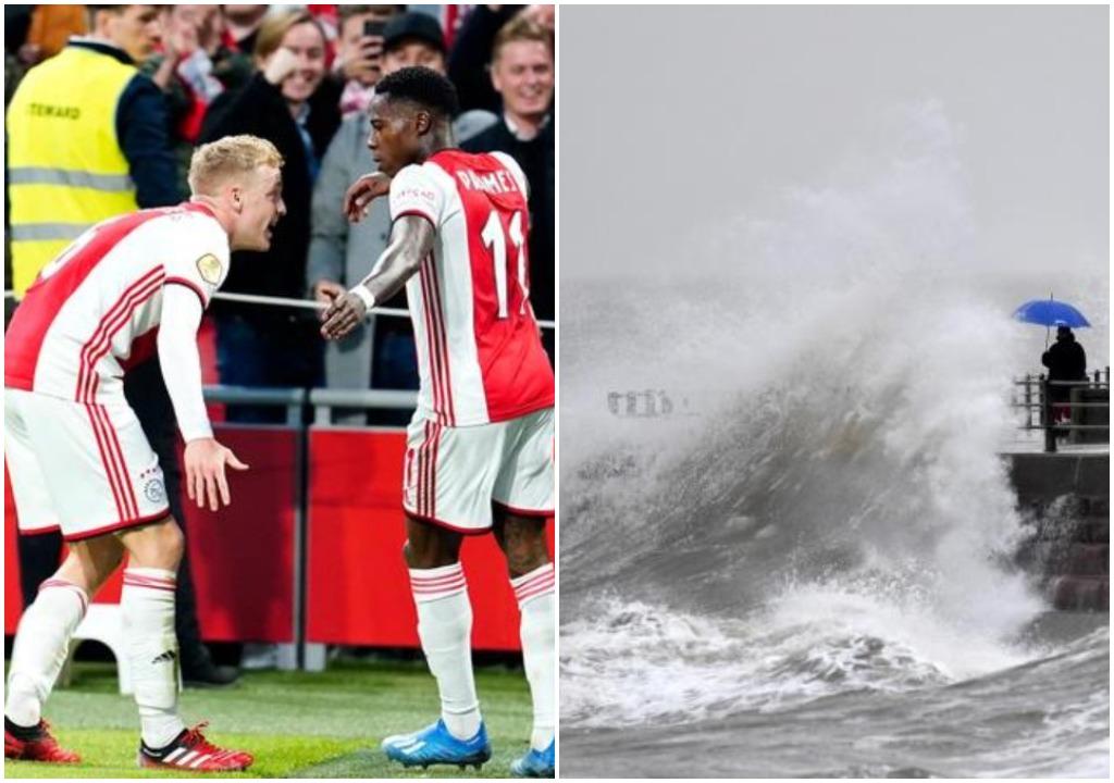 """Frikë nga uragani """"Ciara"""", Ajax konfirmon shtyrjen e takimit ndaj Utrecht"""