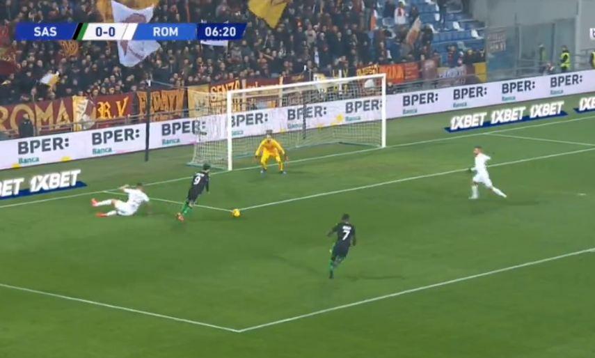VIDEO   Sassuolo shpartallon Romën për 19 minuta, Caputo tallet me mbrojtjen mike