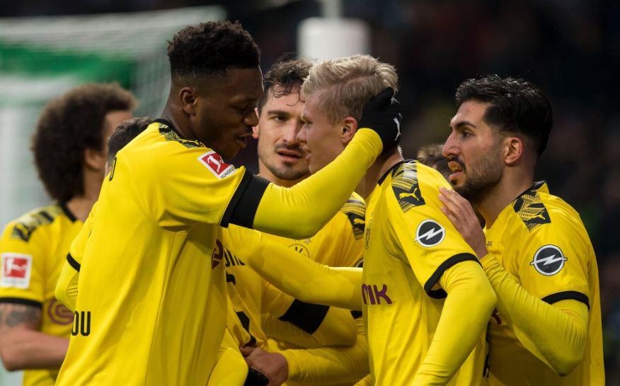 VIDEO   Dortmund triumfon ndaj Werder Bremen, nuk mungon goli i Haaland