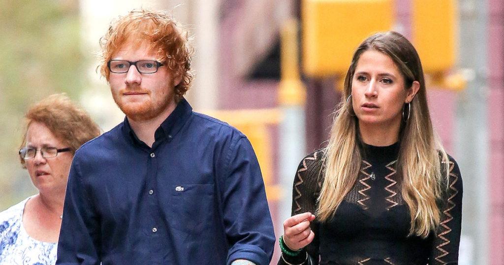 Ed Sheeran feston 29-vjetorin, darkë mes miqsh dhe bashkëshortes