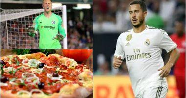 Ish-portieri i Chelsea: Pse është Hazard i shëndoshë? Fajin e kanë… picat!
