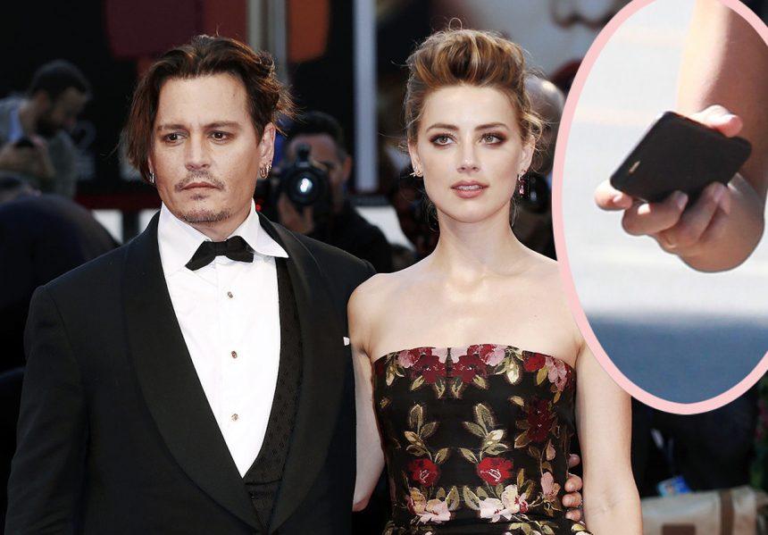 Aktorja pranon se ka dhunuar Johny Depp