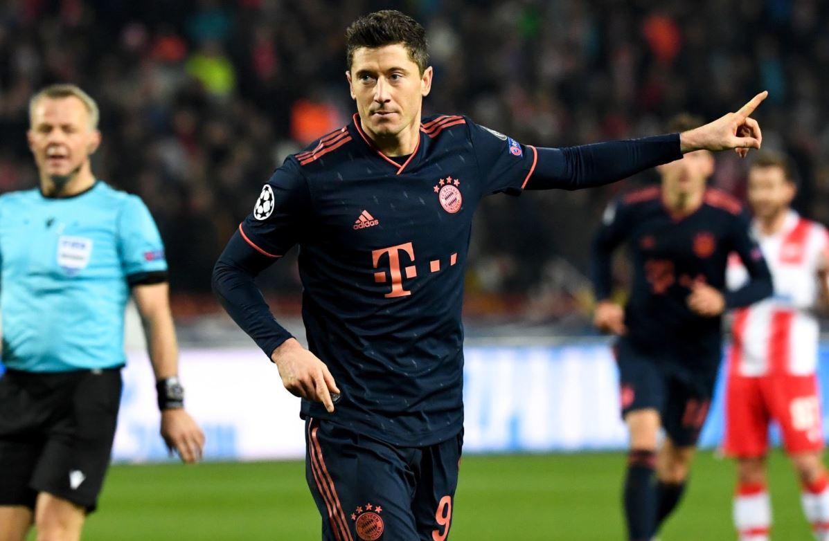 VIDEO   Vetëm 8 minuta i duhen, Lewa shënon golin e 22-të në Bundesliga