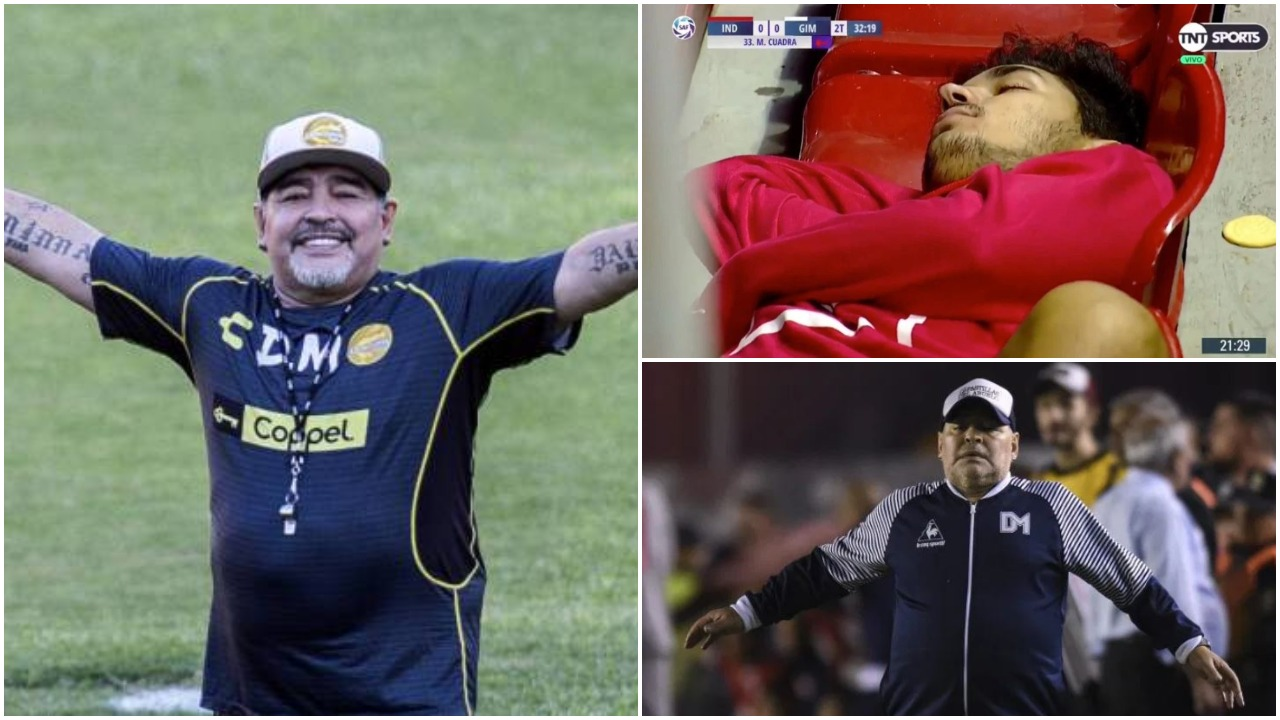 E mposhti Gimnasia e Maradonës, futbollisti i Indepediente ia fut gjumit