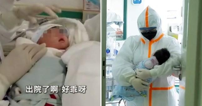 Lindi me koronavirus, shërohet pa asnjë mjekim foshnja në Kinë