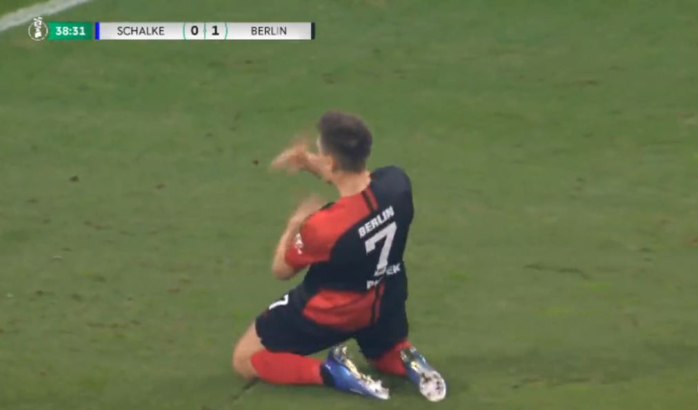 VIDEO   Bum-bum Piatek, polaku e nis me gol aventurën te Hertha