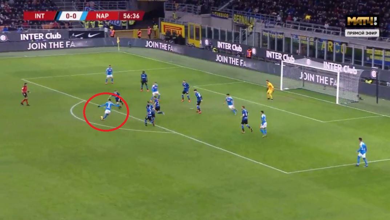 VIDEO | Fabian Ruiz shënon supergol, Napoli ndëshkon Interin në San Siro