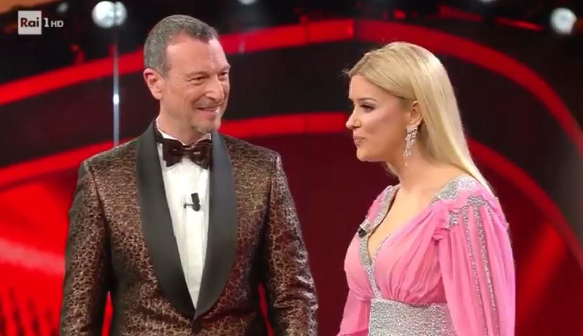 VIDEO/ Alketa Vejsiu në skenën e Sanremos