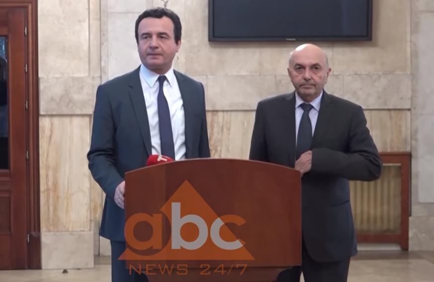 VIDEO/ Kurti dhe Mustafa flasin për marrëveshjen që u finalizua pas 4 muajsh
