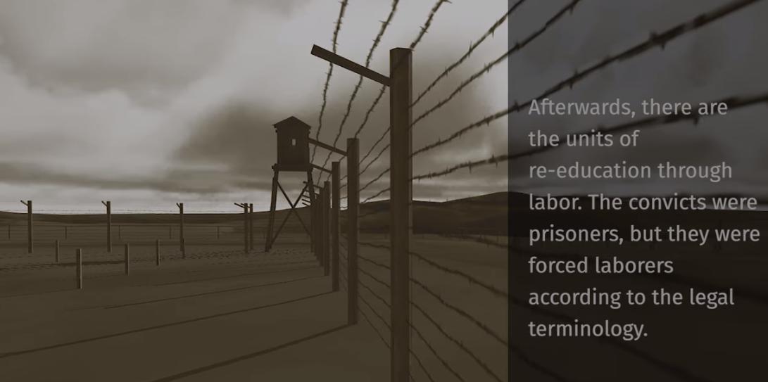 VIDEO/ Harta e mbjellë me burgje, kampe internimi dhe kampe pune