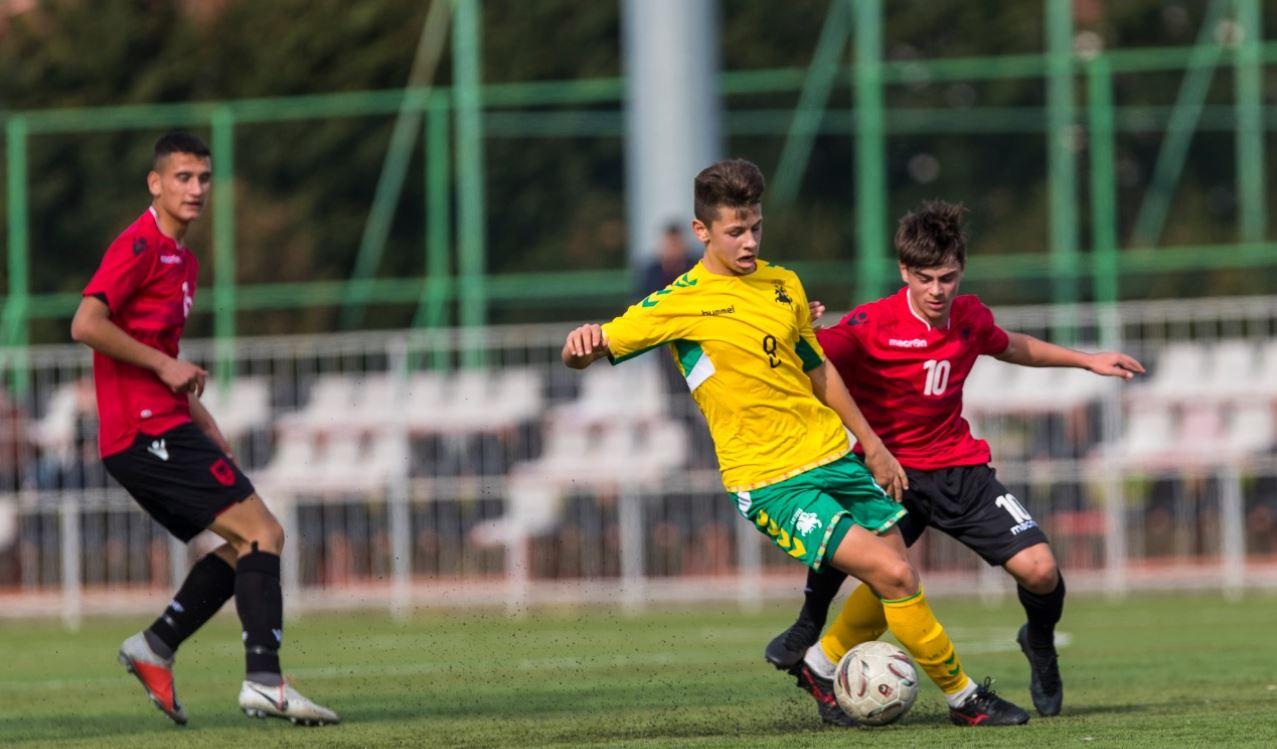 Shqipëria U-16 e nis keq UEFA Development, mposhtet me penallti nga Lituania