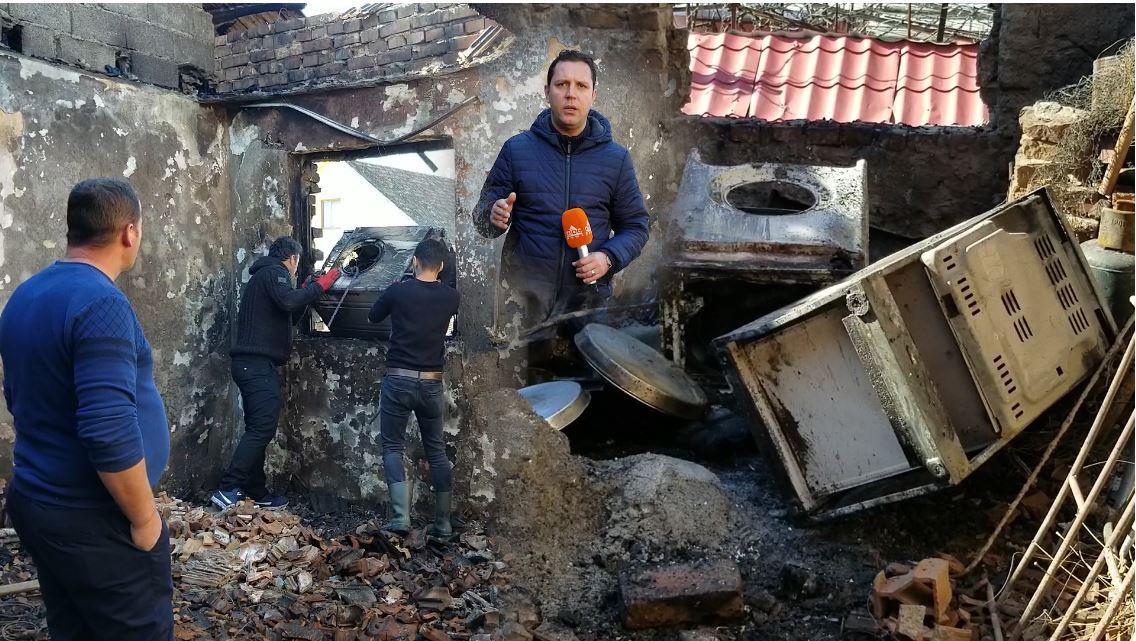 Rrjeti i amortizuar shkrumboi godinën, 20 familje mbesin pa shtëpi