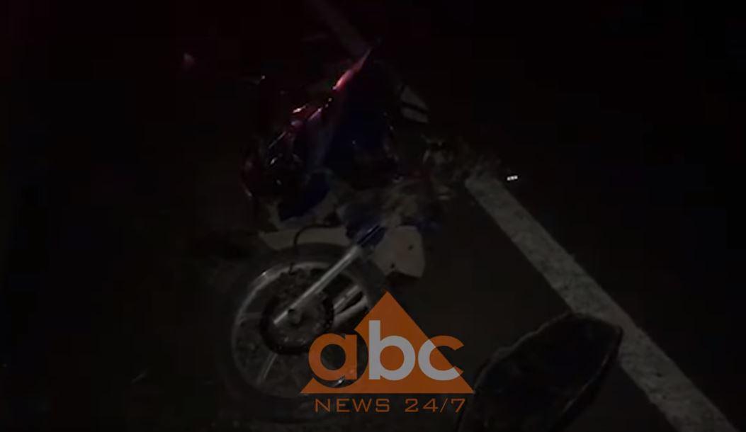 Aksident i trefishtë në autostradën Fushë Krujë- Milot, plagoset rëndë drejtuesi i motoçikletës