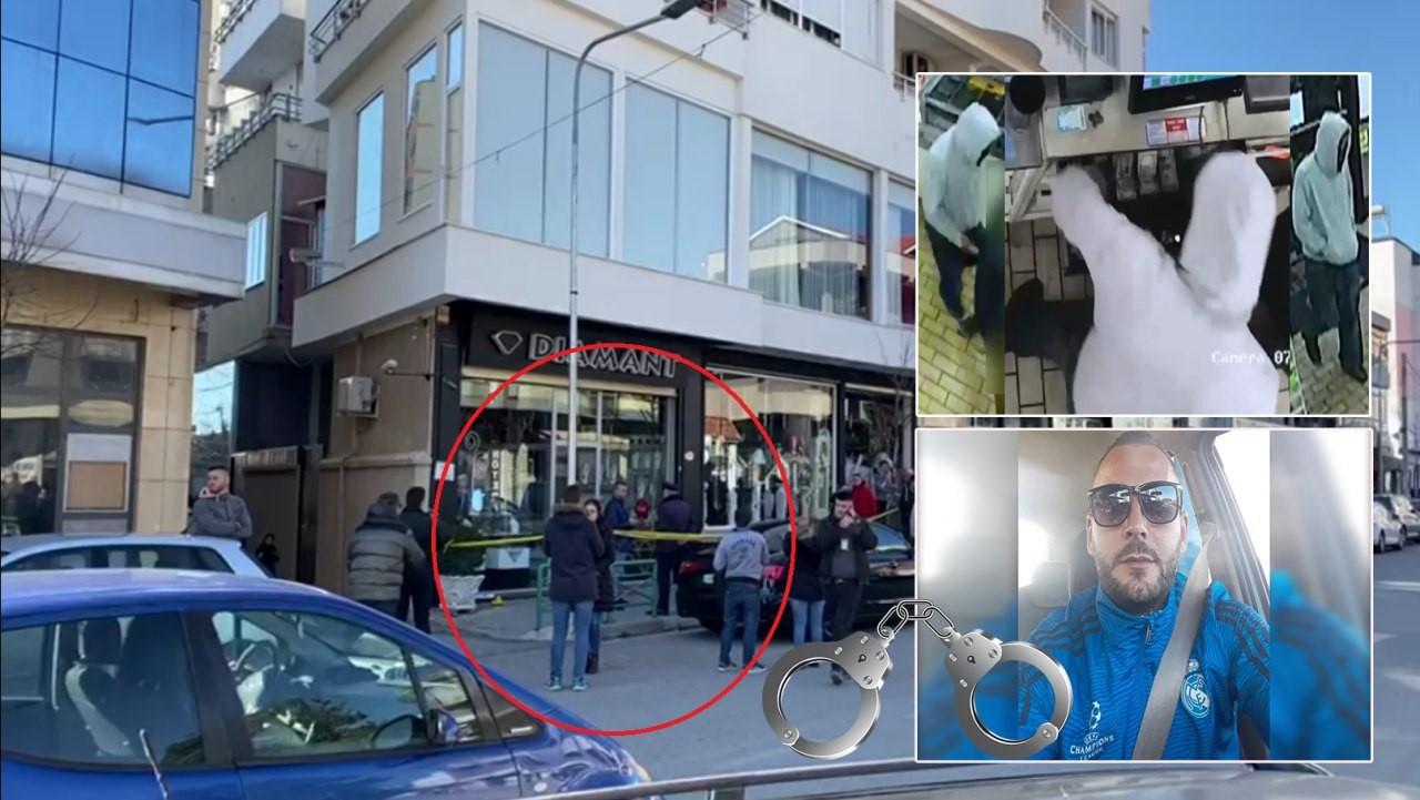 Kapet autori i grabitjes së argjendarisë në Elbasan