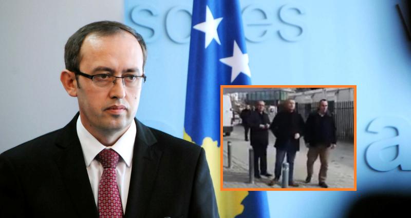 VIDEO / Sulmohet me vezë zëvendëskryeministri Avdullah Hoti
