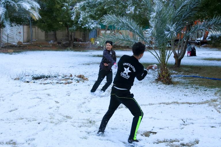 Bagdadi mbulohet nga bora për herë të parë pas shumë vitesh