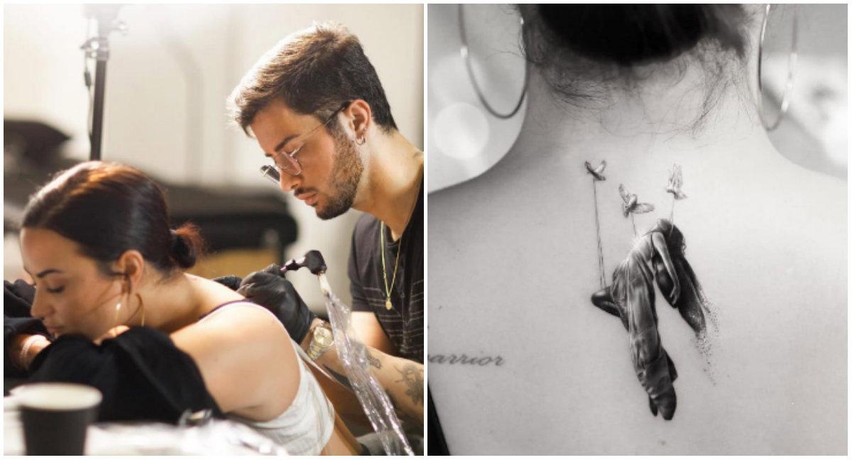 Tatuazhi i Demi Lovato-s ka një kuptim  shumë domethënës