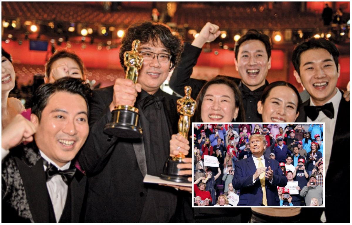 Trump kritikon çmimet Oscar, kundër fitores së 'Parasite'